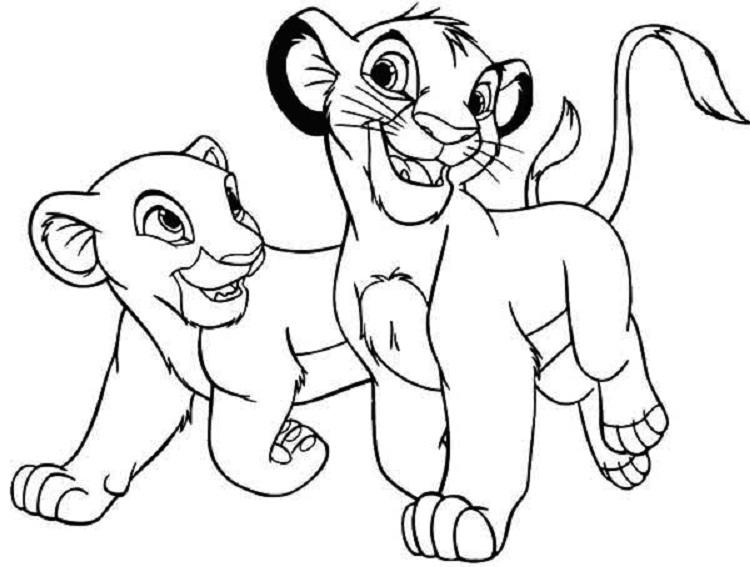 Disney Lion King Coloring Pages Free