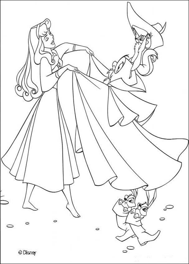 Disney Princess Sleeping Beauty Coloring Pages