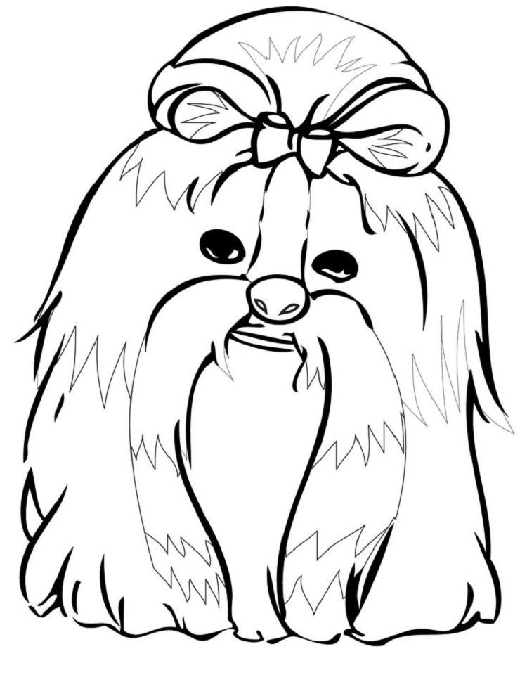 Dog Coloring Pages Crayola