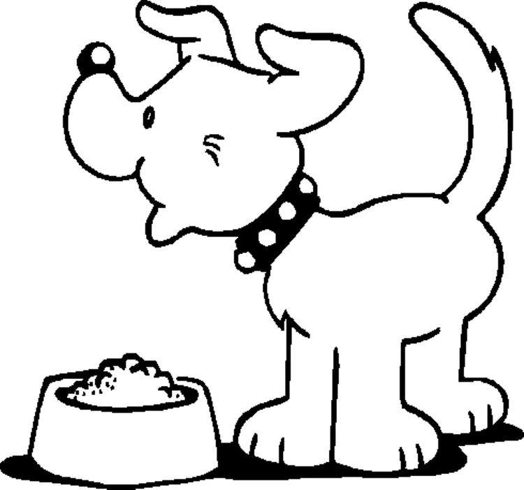 Dog Coloring Pages For Preschool