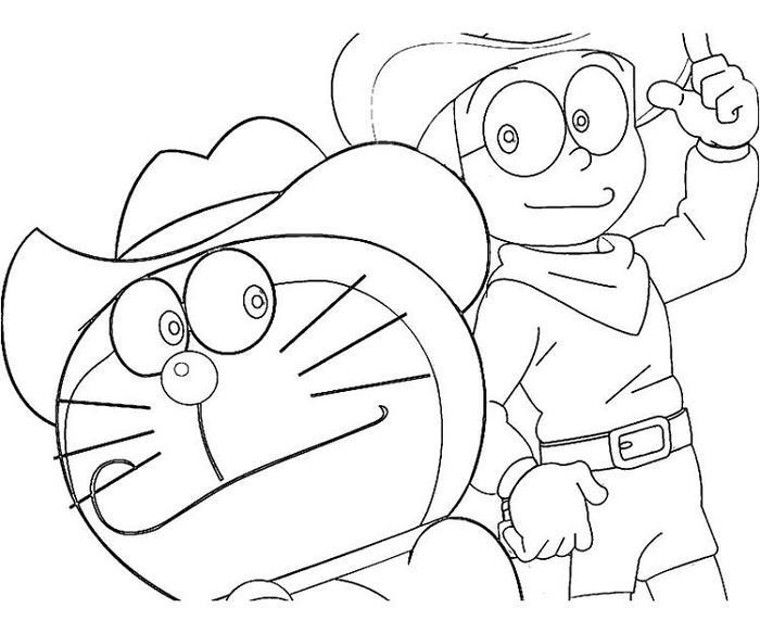 Doraemon Coloring Pages And Nobita