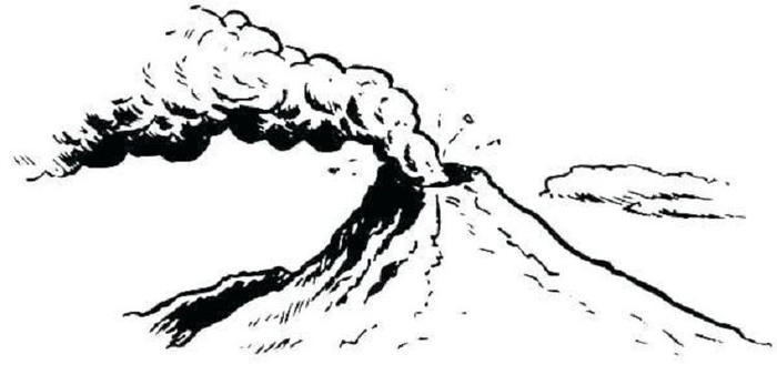 Dormant Volcano Coloring Pages