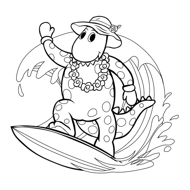 Dorothy Dinosaur Coloring Pages - Coloring Ideas