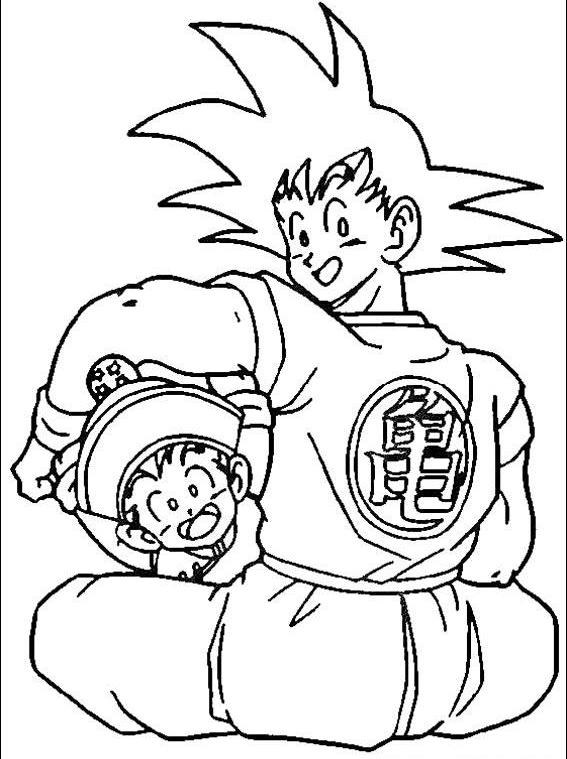 Dragon Ball Coloring Pages 05