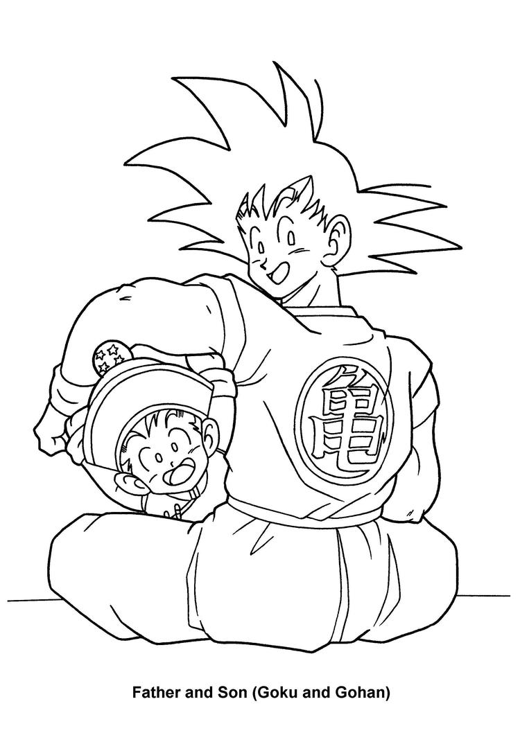 Dragon Ball Z Coloring Pages 79