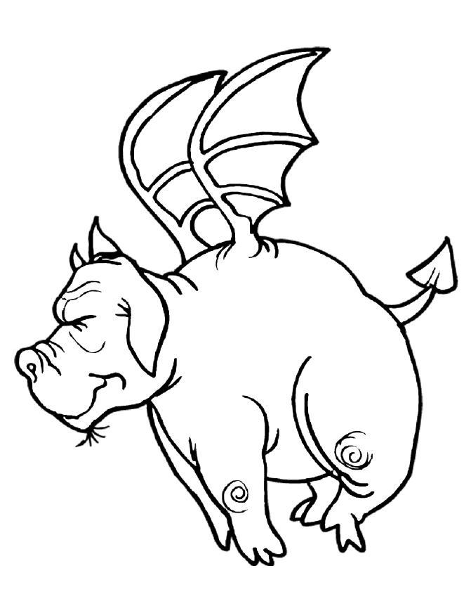Dragon Coloring Pages 02