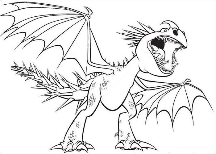 Dragons Edge Coloring Pages