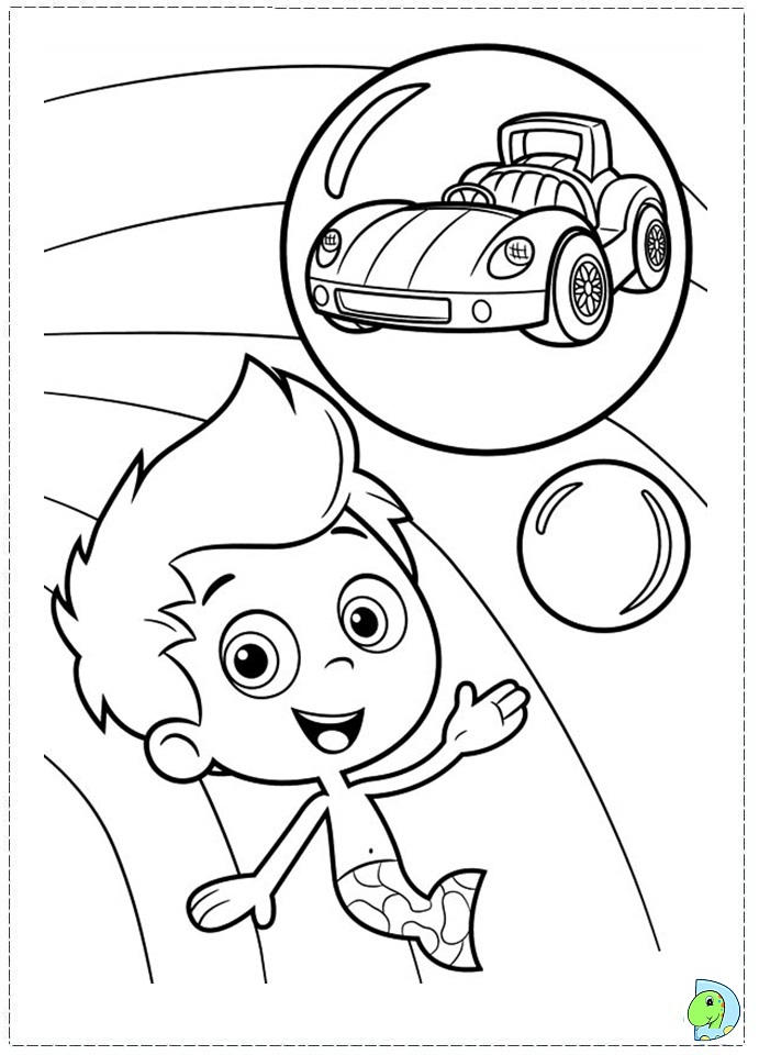 Dreams Bubble Guppies Coloring Pages