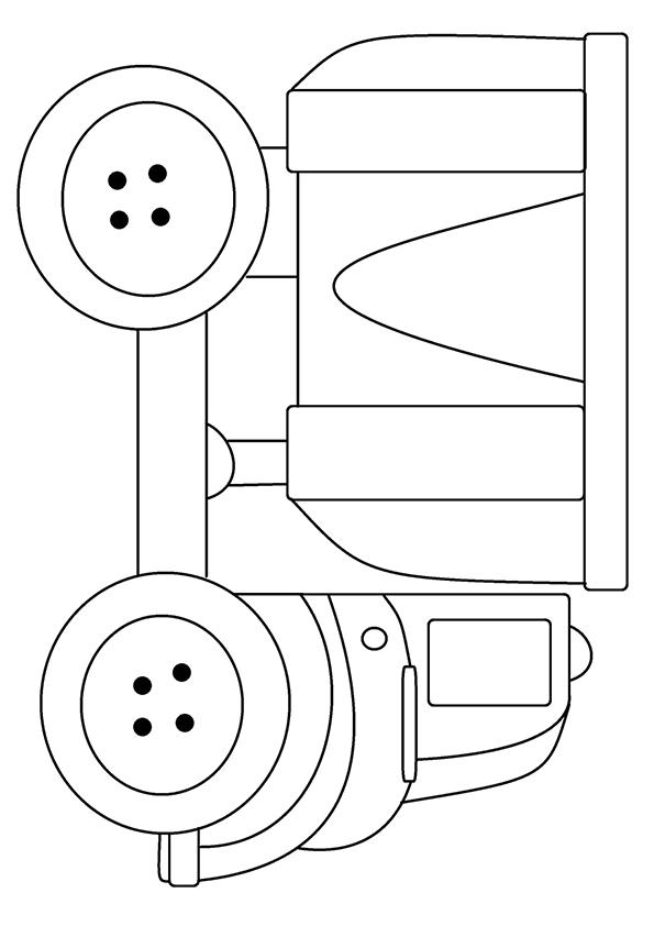 Dump Truck Coloring Pages For Preschooler