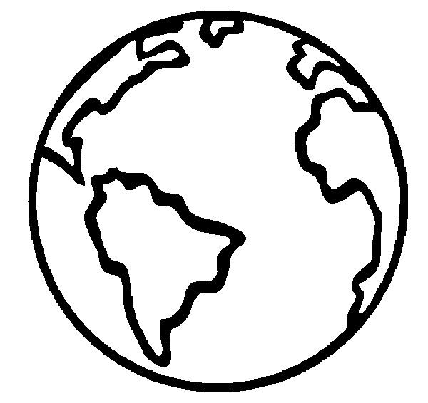 Earth Coloring Pages For Preschooler