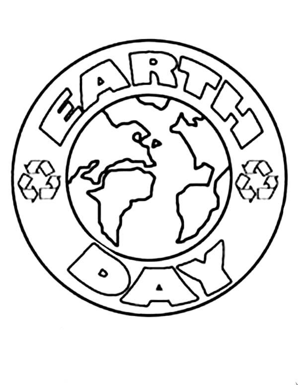 Earth Day Coloring Pages Easy For Kids