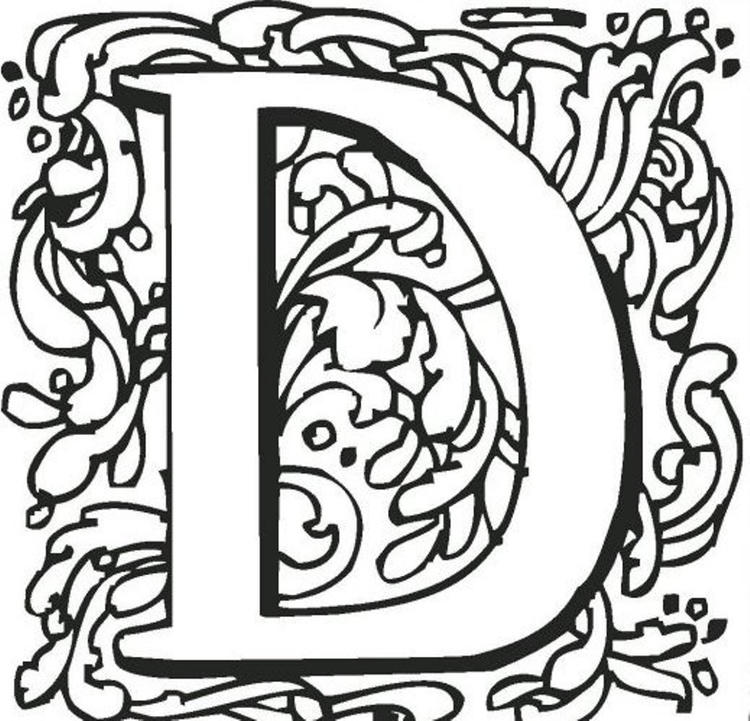Easy Coloring Pages For Teenagers