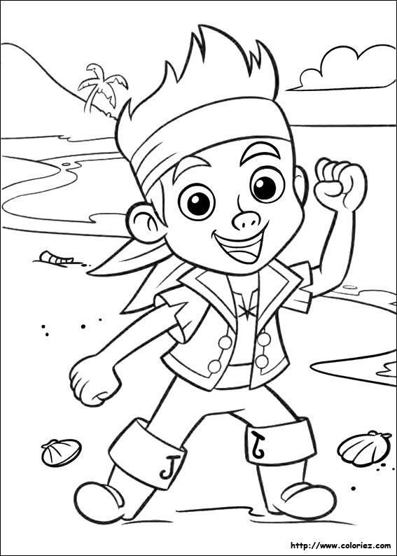 Easy Jake And The Neverland Pirates Coloring Pages