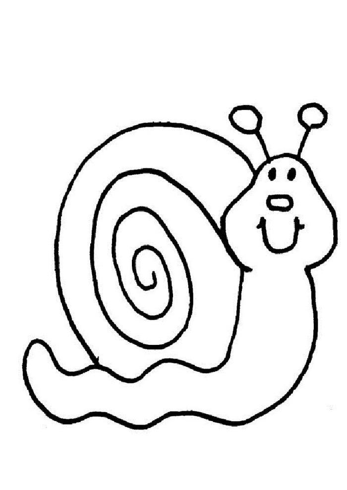 Easy Kindergarten Coloring Pages
