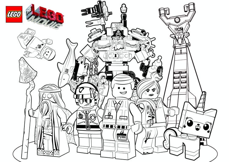 Easy Lego Marvel Coloring Pages 2