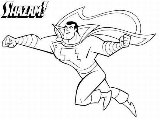 Easy Marvel Coloring Pages