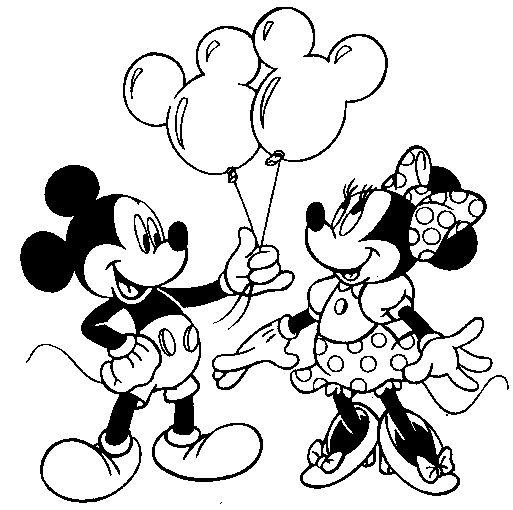Easy Mickey Mouse Clubhouse Coloring Pages