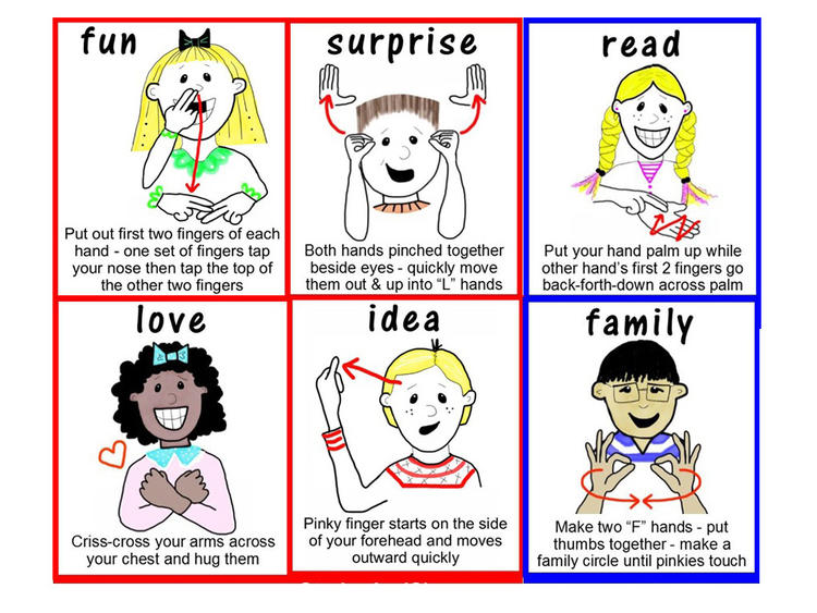 Easy To Teach Sign Language By Using Images