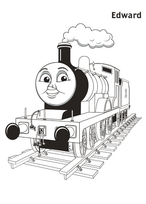 Edward Thomas And Friends Coloring Pages