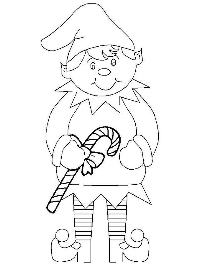 Elf On The Shelf Coloring Book For Kids