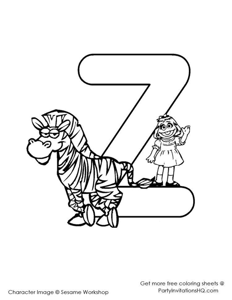 Elmo Abc Coloring Pages To Print 1