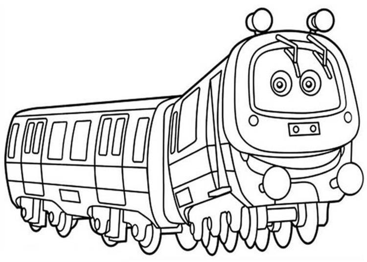 Emery Chuggington Coloring Pages
