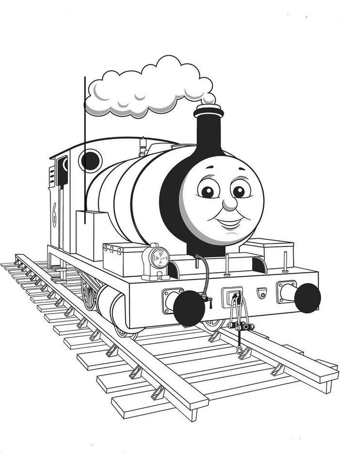 Emily The Train Coloring Pages