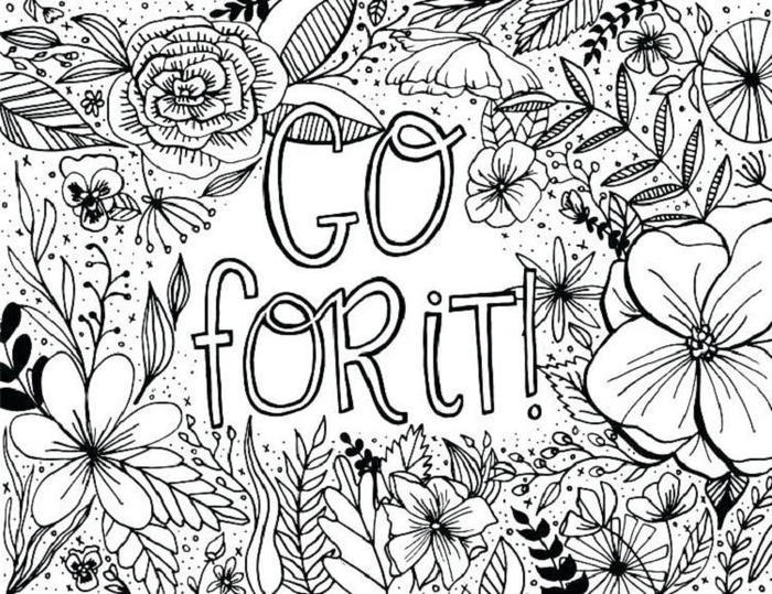 Encouragement And Inspirational Coloring Pages