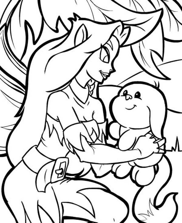 Faerie Lift Neopets Coloring Pages