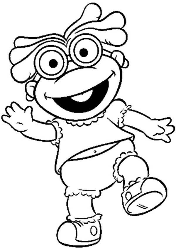 Famous Muppet Babies Coloring Pages