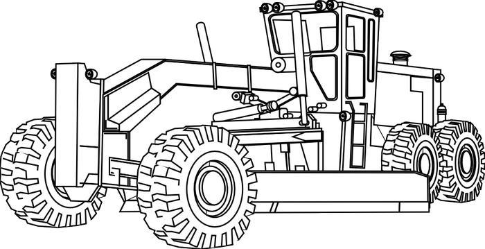 Farm Equipment Coloring Pages