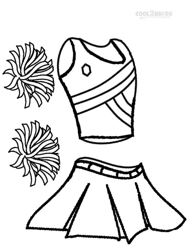 Fashion Bratz Cheerleading Coloring Pages