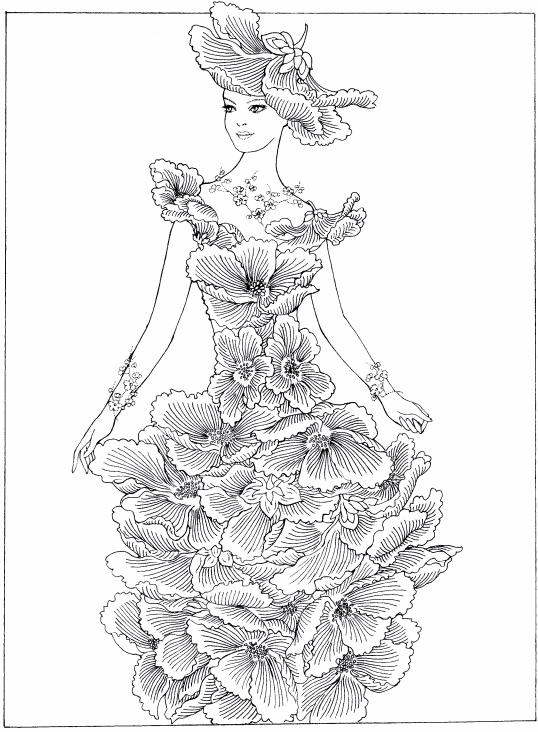 Fashion Coloring Pages