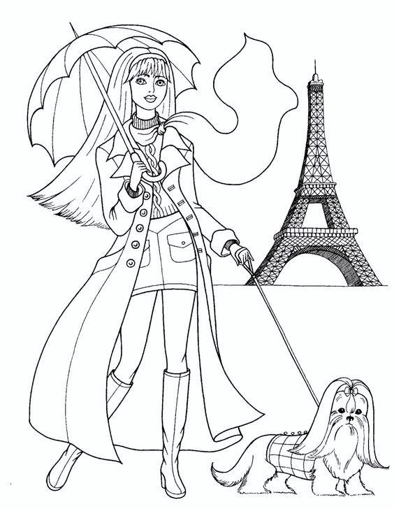 Fashion Show Coloring Pages 05