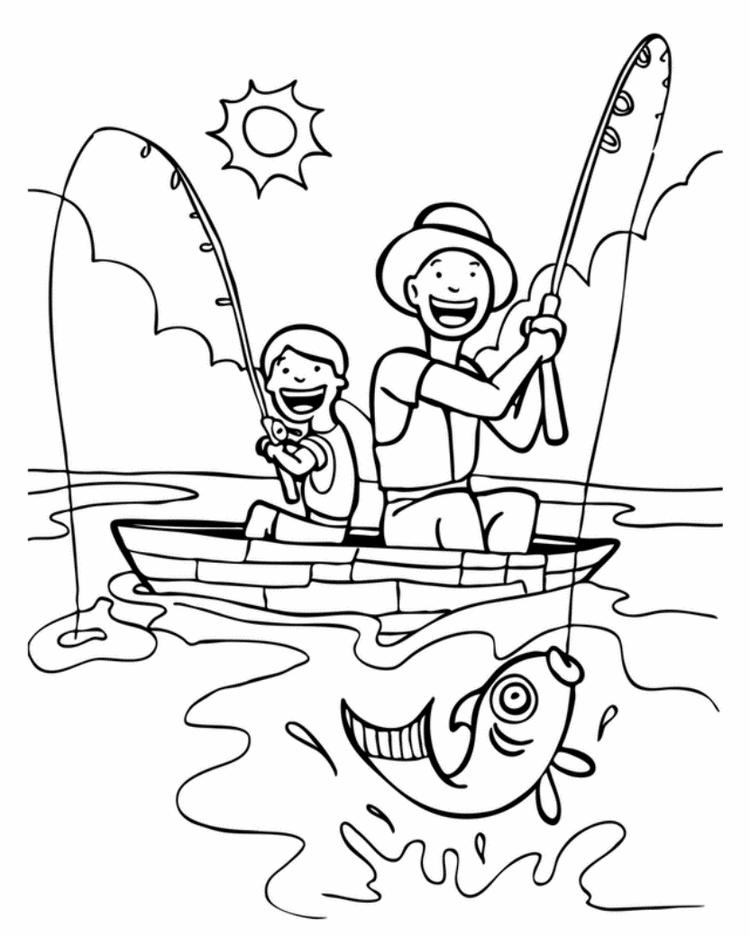 Fathers Day Coloring Pages Activity