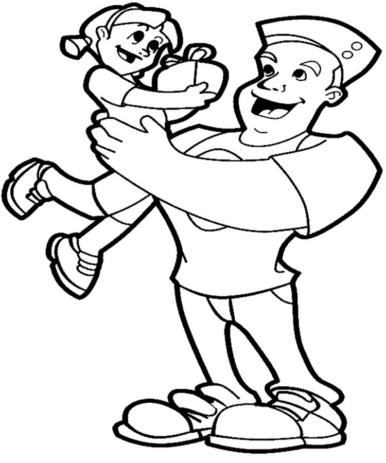 Fathers Day Coloring Pages From Daughter