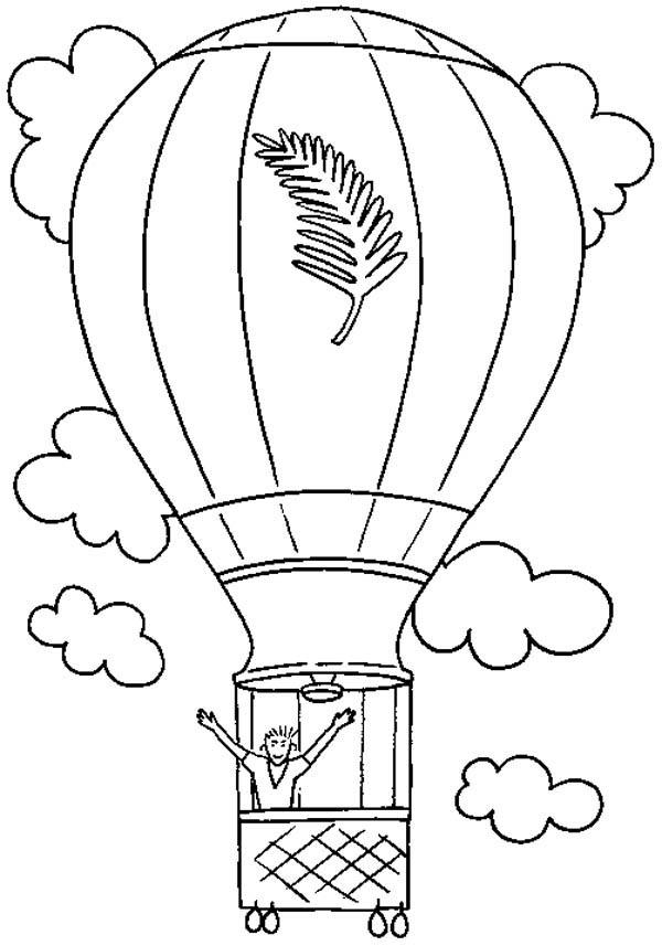 780 Top Free Coloring Pages Hot Air Balloons  Images
