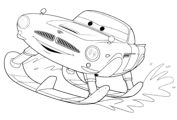 Finn Mcmissile Coloring Page To Print