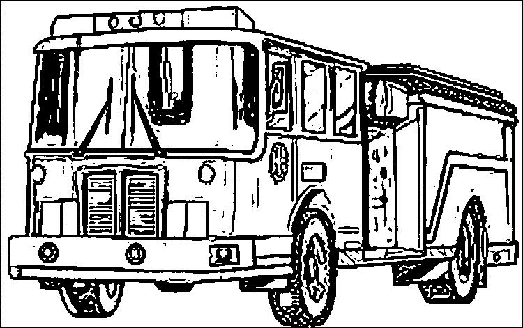Fire Truck Coloring Pages Free Printable