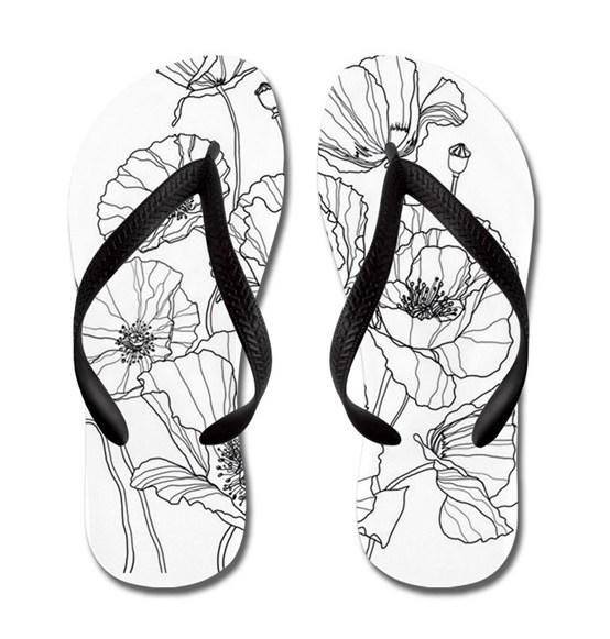 Flip Flops Gucci Coloring Page