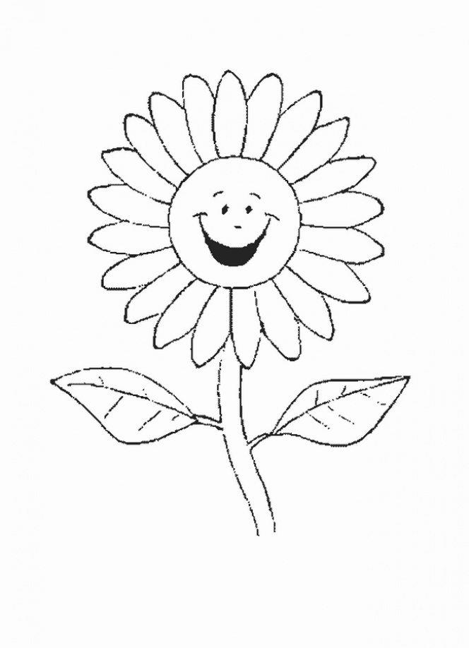 Flower Coloring Pages Children