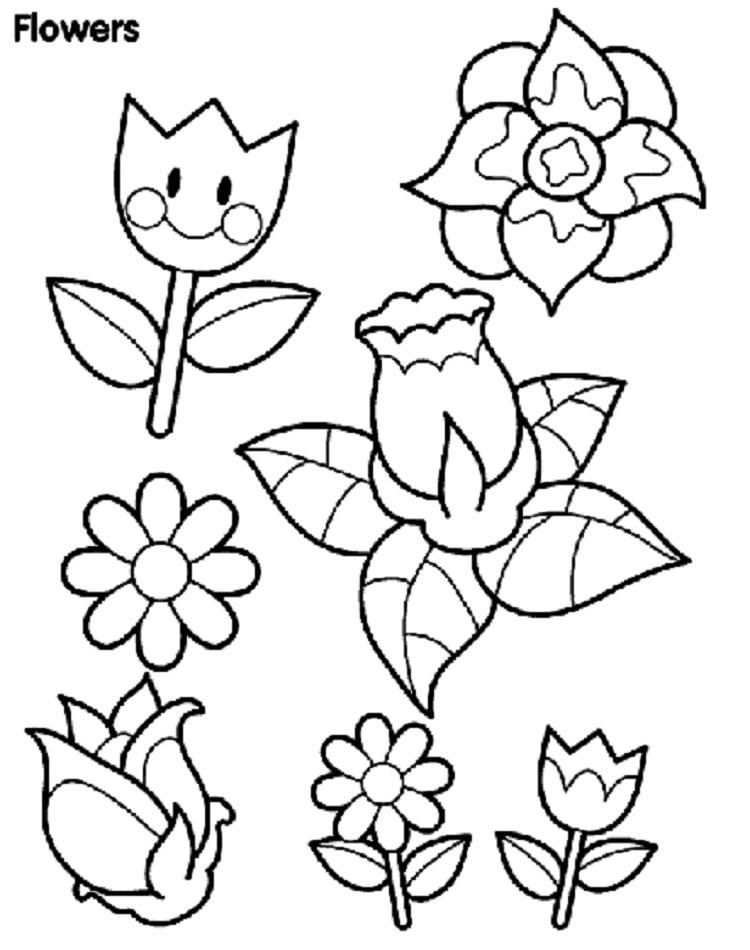 Flower Coloring Pages Crayola