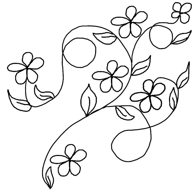 Flower Vines Coloring Pages