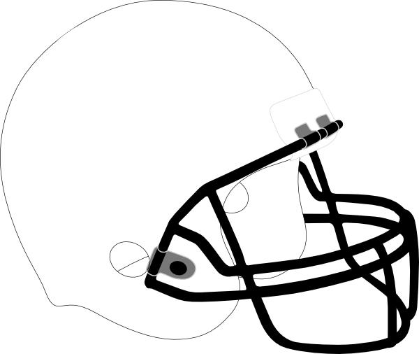 Football Helmet Coloring Pages Printable