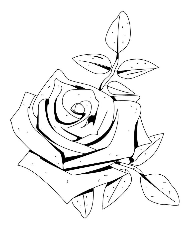 Fragrant Flower Coloring Page