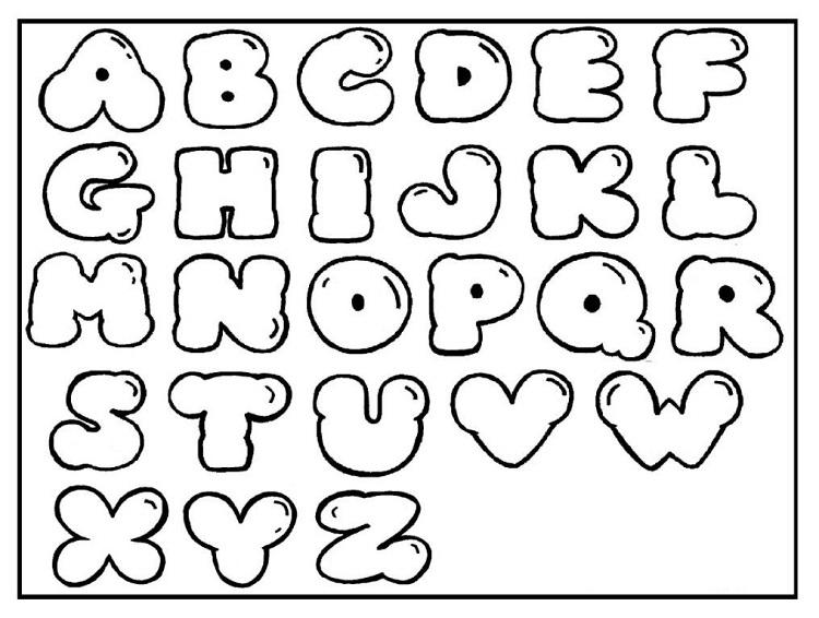 Free Alphabet Coloring Pages A Z