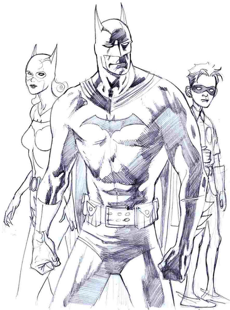 Free Batman And Robin Coloring Pages To Print Out