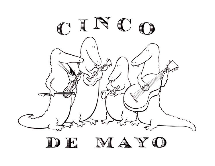 Free Cinco De Mayo Coloring Pages To Print - Coloring Ideas
