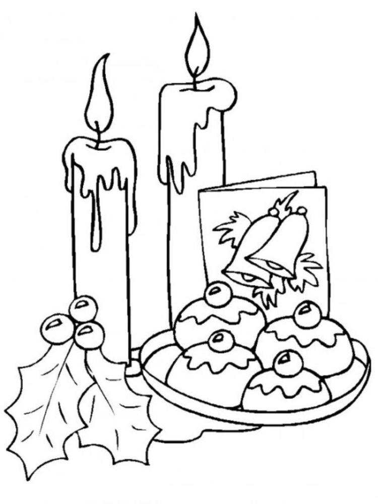 Free Coloring Pages For Christmas Day