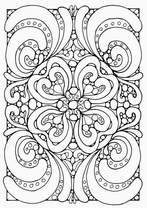 Free Coloring Pages Of Hearts For Teenagers Difficult 3